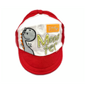 Little Monster Baby Cap - Red  6-12M