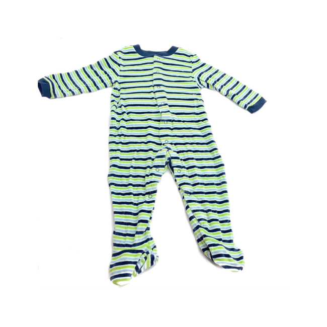 Marks & Spencer Velvet Sleepsuit 9-12M