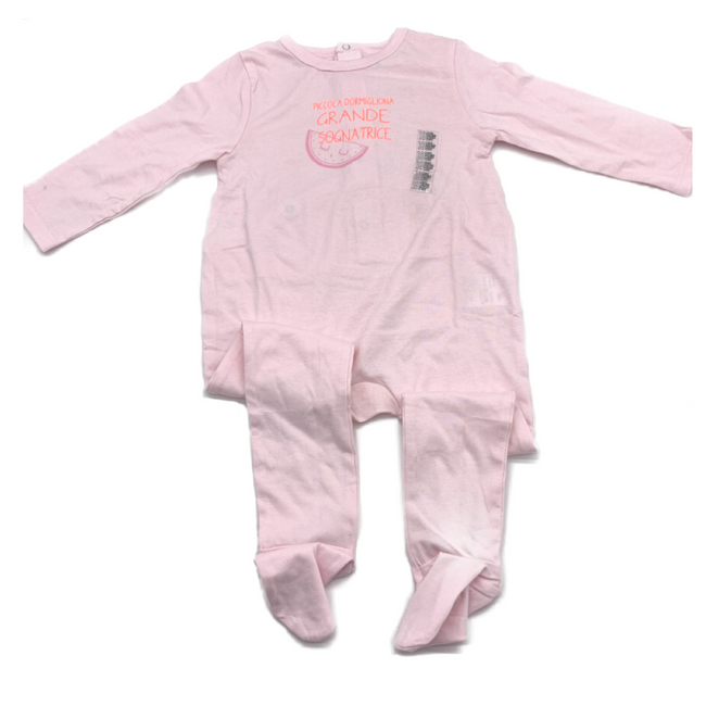 Z-Generation Long Sleeve Sleepsuit Rose 18M