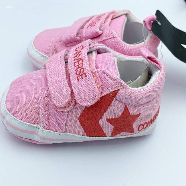 Rose Baby Converse Scotch Shoes