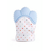 Baby Teether Gloves Baby Blue