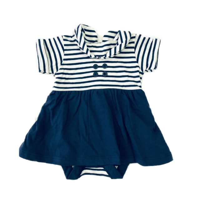 Matalan Navy Baby Girl Dress