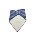 Matalan Bandana Bibs ( Stripped / Blue)