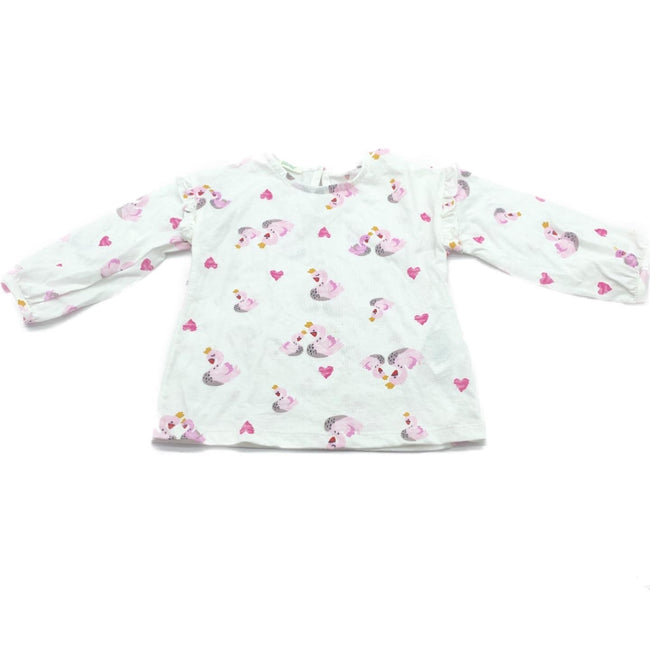 United Colors of Benetton T-Shirt Flamingo