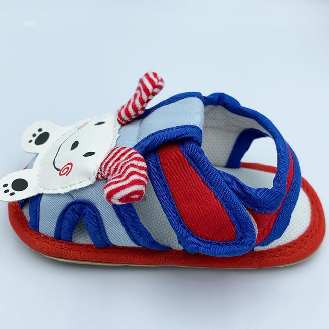 Blue/ Red Rabbit Summer Sandal