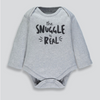 Matalan - Long Sleeve The Snuggle Is Real Bodysuit