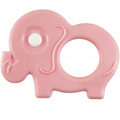 True - Baby Teether Pink Elephant