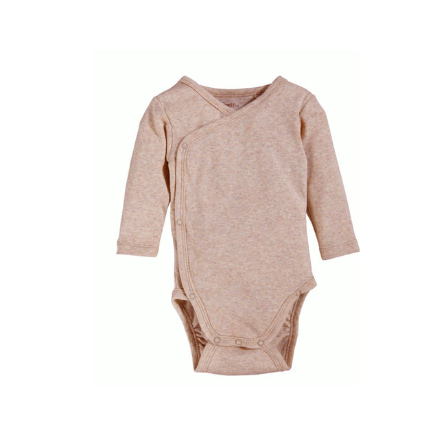 Lupilu Pack 2 Pieces Long Sleeve Side Snap Bodysuit