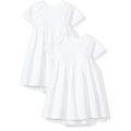 Moon and Back - Baby Girls' Short-Sleeve Dress