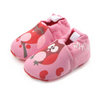 Rose Owl Baby Shoes