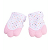 Baby Teether Gloves Rose