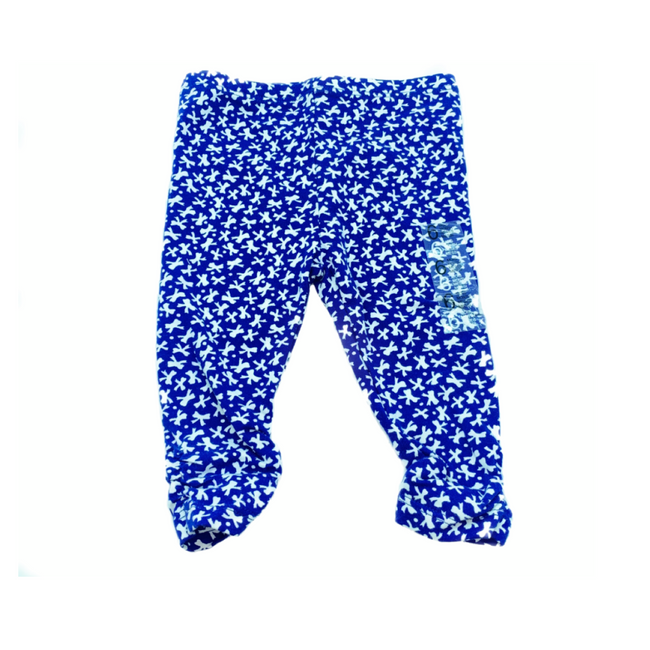 Z Generation Blue leggings 3-6M