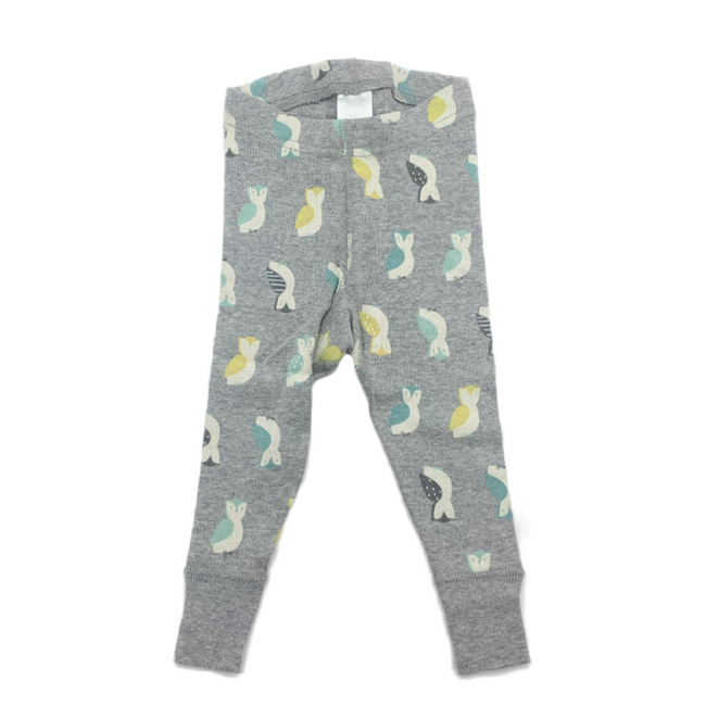 Moon and Back Leggings Owls