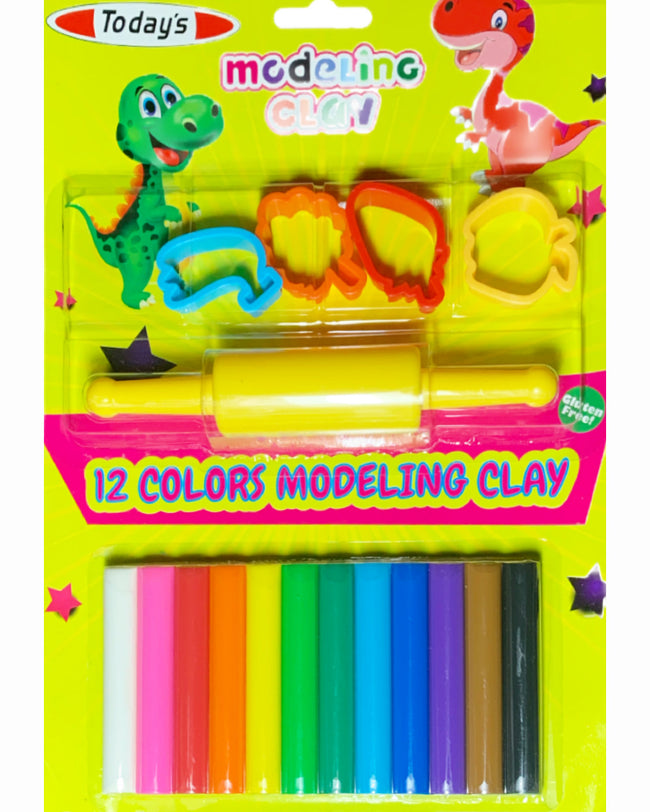 12 Color Modeling Clay