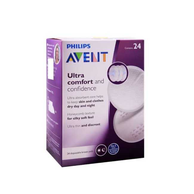 Philips Avent Ultra Comfort Disposable Pads - 24 Pads