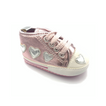 Rose Gold Converse Shoes