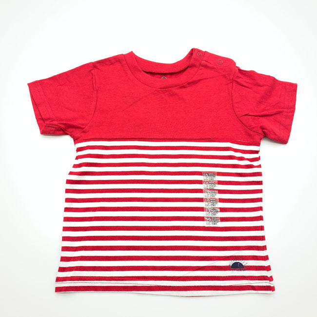 Z-Generation Red T-Shirt 12M
