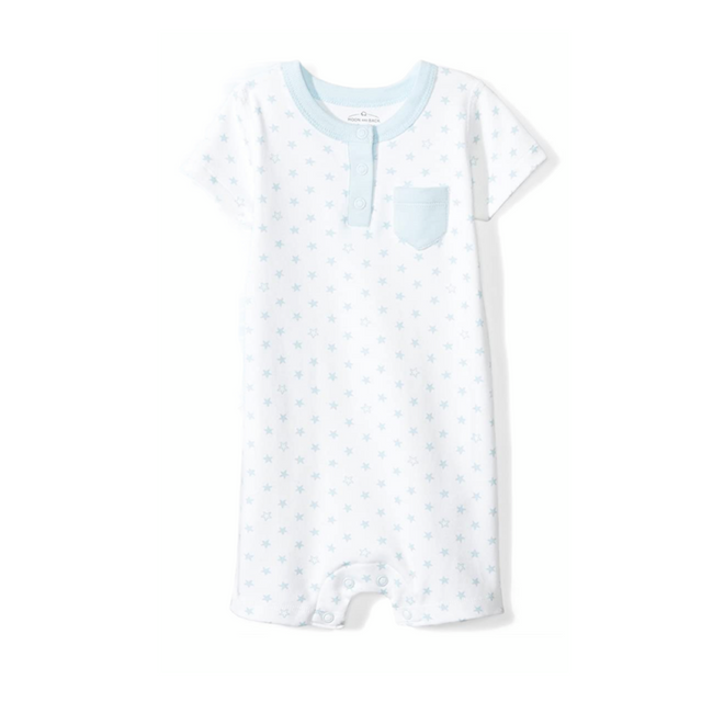 Moon and Back Romper Baby Blue 18M
