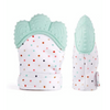 Baby Teether Gloves Light Green