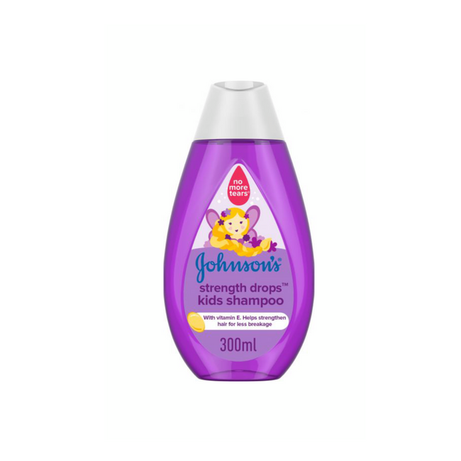 Johnson's Strength Drops Kids Shampoo 300 ml