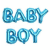 Baby Boy Helium Balloon - Baby Blue