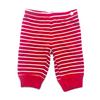 Moon and Back Striped Red Pants