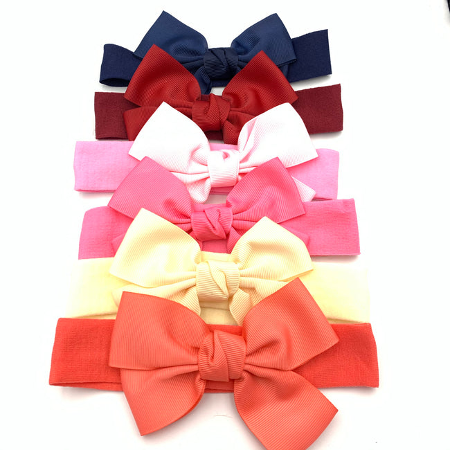 Cute large Ribbon Headband for little Girls and Babies