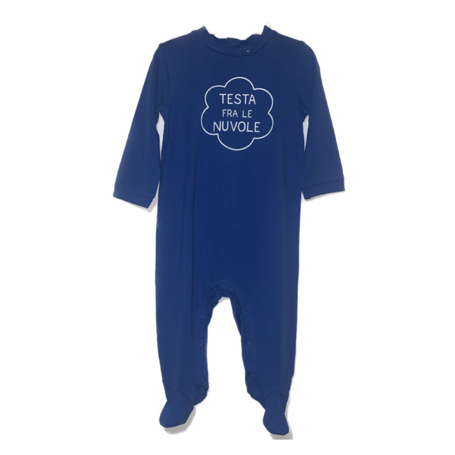 Idexe- Blue Long Sleeve Bodysuit 3M