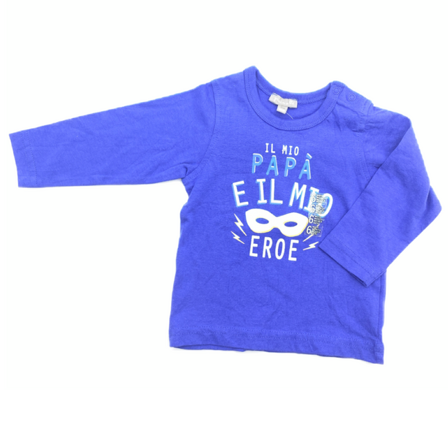 Z-Generation Long Sleeve T-Shirts Blue 6M