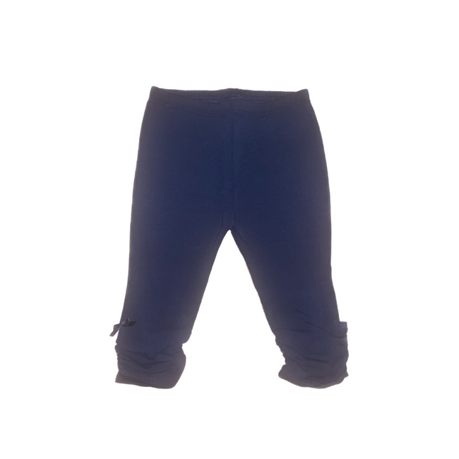 Dark Blue Leggings For Baby Girl 9M