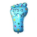 ITS A Girl / ITS A BOY Balloon Baby Foot Helium Quality Foil Balloon for Baby Showers Celebration Decoration  28""