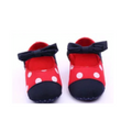 Red Minnie Baby Dotted Shoes
