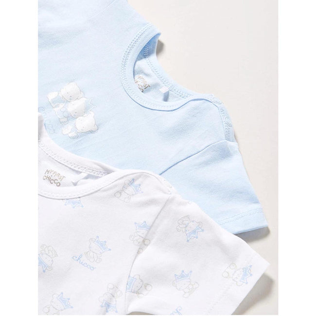 Chicco Short Sleeve Bodysuit Pack x2