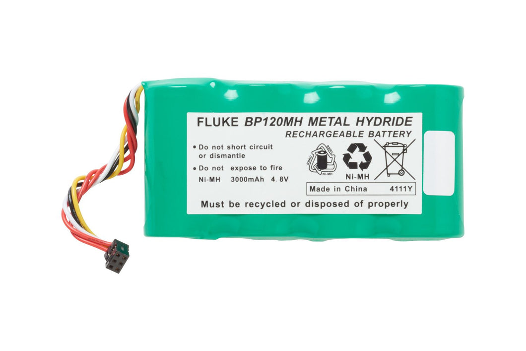 Fluke BP120MH NiMH Battery Pack for Fluke 120 series, Fluke 43 and 43B