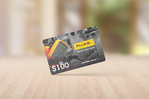 Fluke Online Gift Card - Physical Gift Card