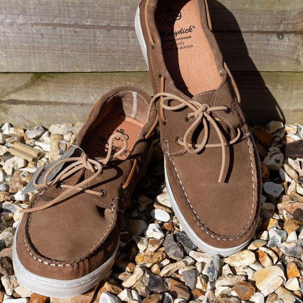 NASSAU Casual Taupe Deck Shoe