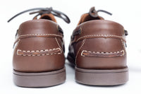 YACHTSMAN Cow Cyclone Brown Deck Shoe