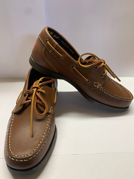 Mount's Bay Brown Deck Shoe CLEARANCE