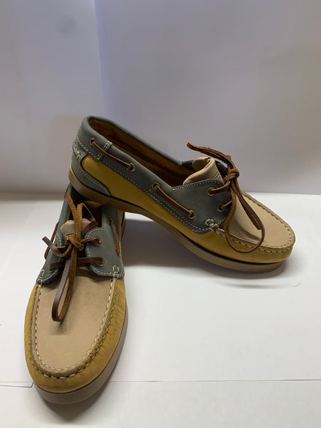Honey/ Beige/ Grey Deck Shoe CLEARANCE