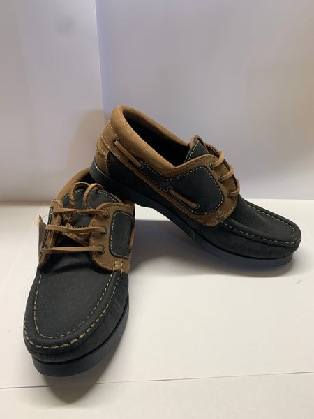 WINDWARD Navy/ Brown Deck Shoe CLEARANCE