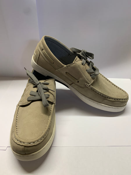 Helmsman Stone Grey Deck Shoe CLEARANCE