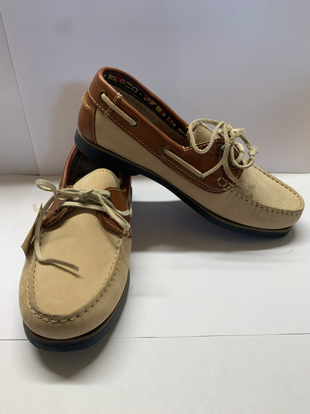 WINDWARD Tan Deck Shoe CLEARANCE