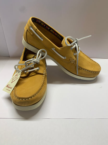 WINDWARD Yellow Deck Shoe CLEARANCE