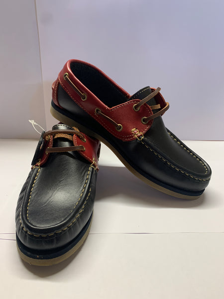 Cruise Navy/Red Deck Shoe CLEARANCE