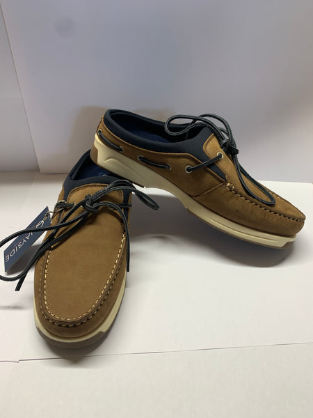 MADEIRA  Brown Slip-on Deck Shoe CLEARANCE