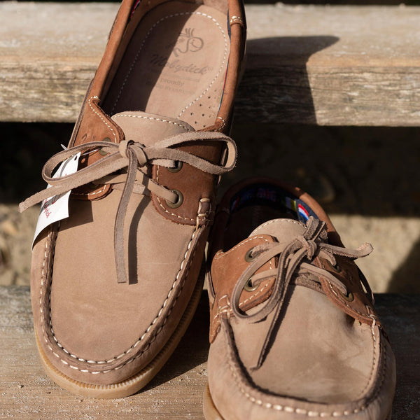 WINDWARD Classic Tan Ginger Deck Shoe