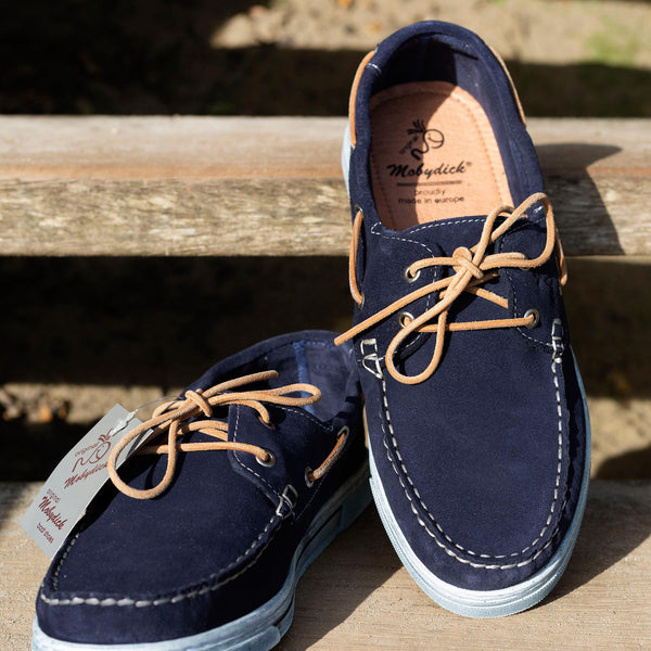 NASSAU Casual Navy Deck Shoe