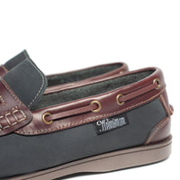 HELMSMAN Navy Redwood Slip-on