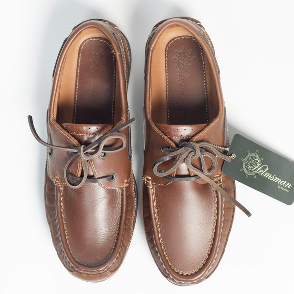 HELMSMAN Seafarer Brown Deck Shoe