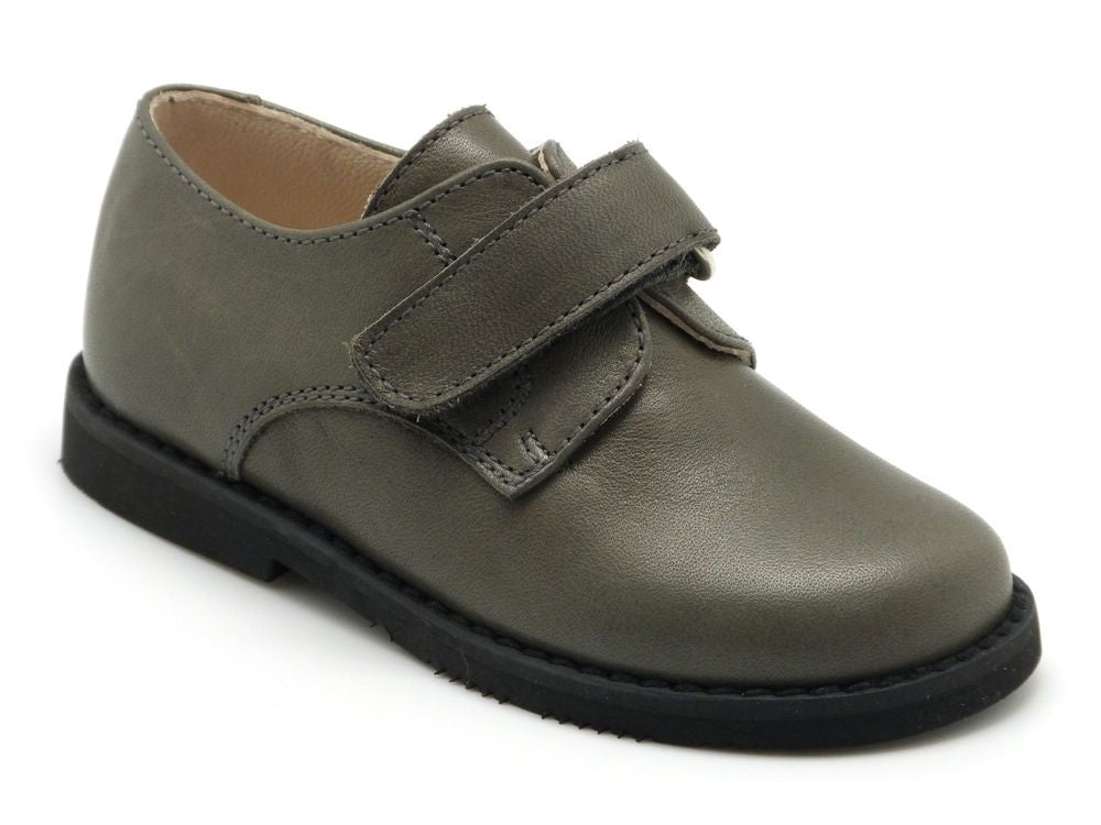 Grey Leather strap Shoes